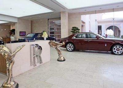 Rolls-Royce Showroom