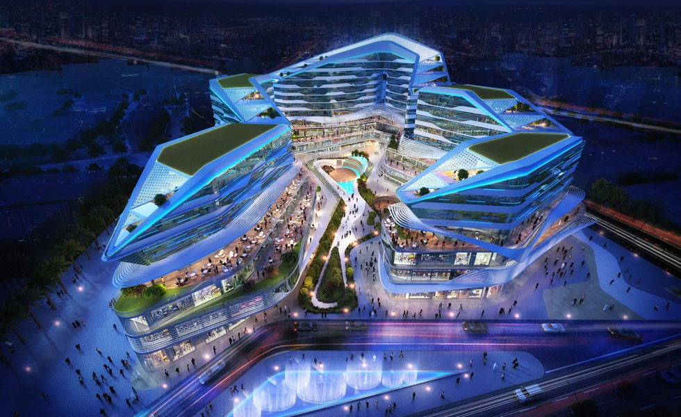 al rayyan mixed use project shortlisted in waf awards aeb