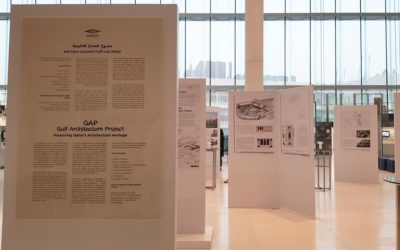 AEB exhibits research findings at the Gulf Architecture Project Exhibition