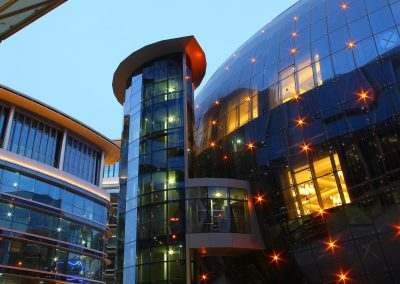 Business Park and Crowne Plaza Hotel