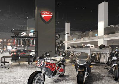 Motorbike Showroom