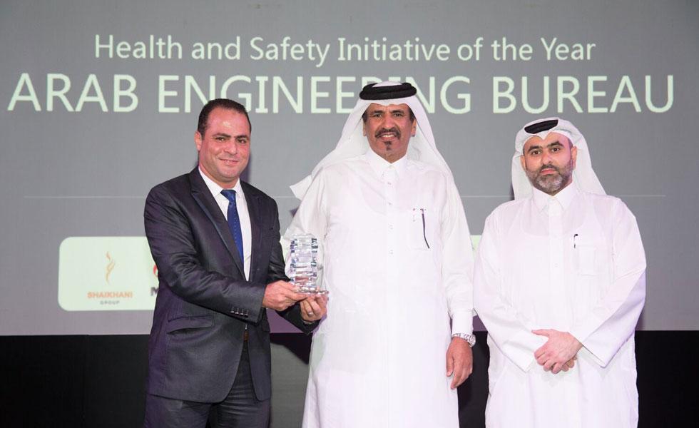 AEB wins Health & Safety Initiative Award