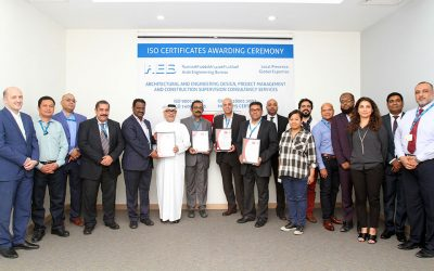 AEB Receives ISO Certificates For Pre And Post-Contract Services
